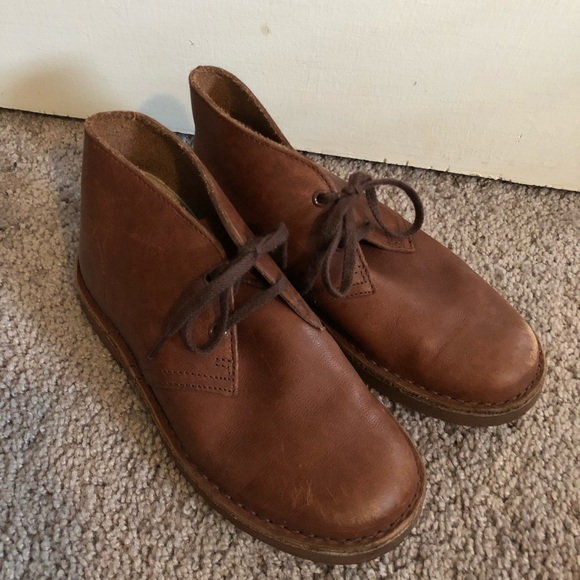 4cfb28a8dd505 Clarks Shoes | Boys Originals Desert Boot Brown 125 | Poshmark
